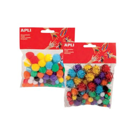 SACH 78 POMPONS COUL ASS