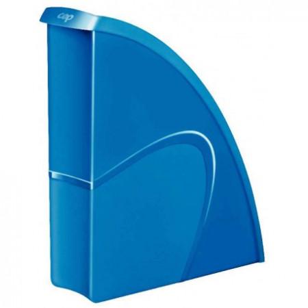 Porte revue en polypro - Bleu