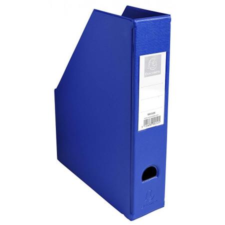 Porte revue pan coupé - Dos 70mm - Bleu