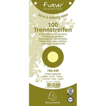 FICHE INTERCAL TRAPEZOIDAL JAUNE105*240