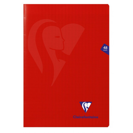 PIQURE A4 48PAGES ROUGE POLYPRO