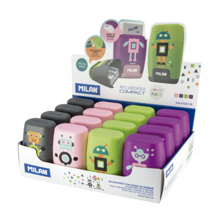 GOMME + TAILLE CRAYONS MILAN