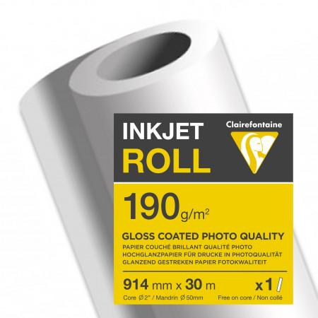 Papier couché brillant qualité photo