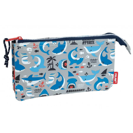 TROUSSE 5 COMPARTIMENTS SHARK ATTACK