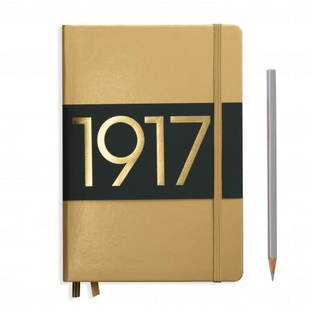 Carnet Medium (A5) couverture rigide, 249 pages numérotées, pointillés, baie