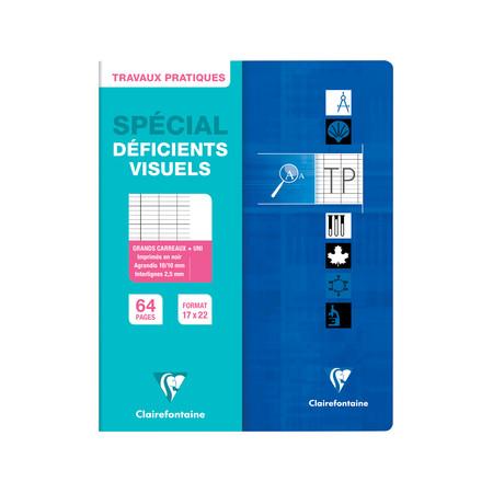 Répertoire spécial deficients visuels 17X22 96P
