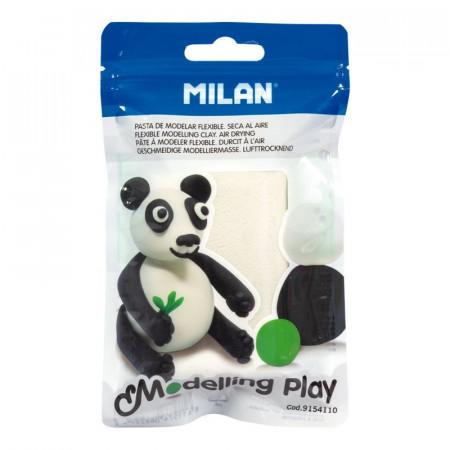 Pâte à modeler panda 1