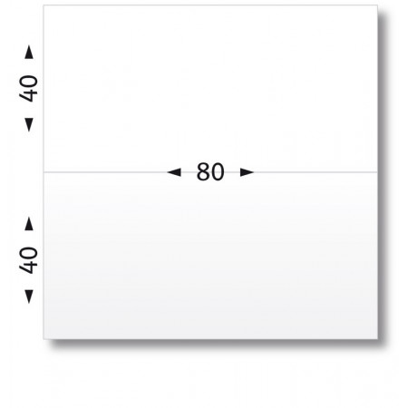BTE 1000 ETIQ/AFFRANCHIR 80X40