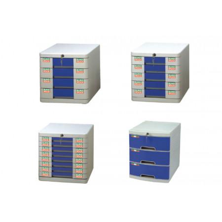 BURO'BOX 5 TIROIRS A CLEF