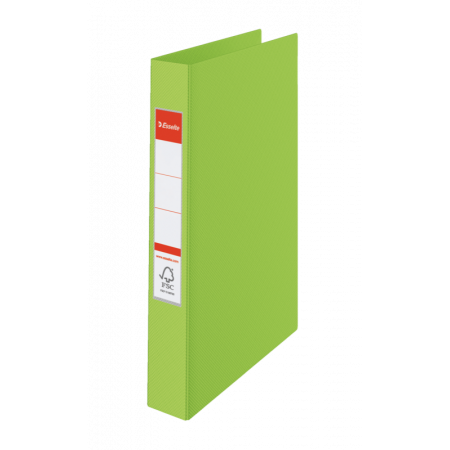 CLASSEUR RIGIDE RELIURE 4 ANNEAUX, Format A4, 21X29.7, Dos 35MM - VERT