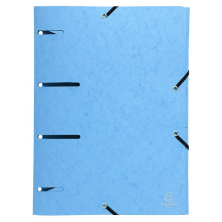 Chemise à élast. PUNCHY+ CL 375g/m² Bleu