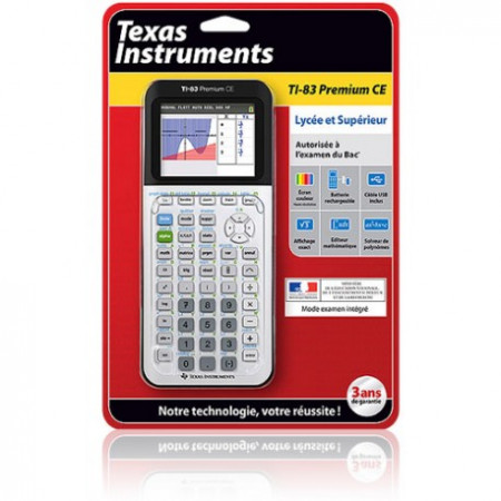 CALCULATRICE TEXAS INSTRUMENT TI 83